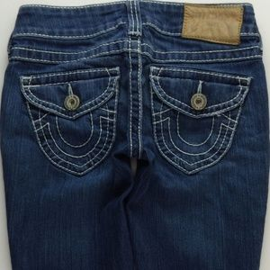 True Religion Julie Natural Big T Skinny 26 A027